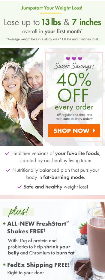 Jumpstart your weight loss!